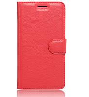 Чехол-книжка Bookmark для Huawei Honor 6X red