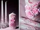 """Свадебные свечи """"Семейный очаг"""" в фиолетовом цвете, фото 7"""