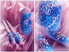 """Свадебные свечи """"Семейный очаг"""" в фиолетовом цвете, фото 8"""