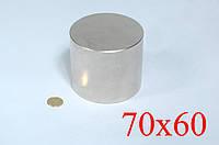 Неодимовый магнит 70х60 (вода,газ,электро)для поисковых работ