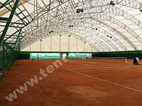 Теннисный корт. Тентовая конструкция