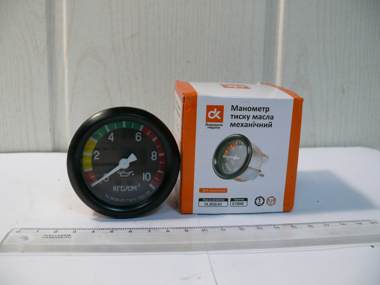 Манометр давления масла механический