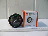 Манометр давления масла механический , фото 1
