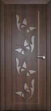 """Дверь межкомнатная """"Бабочка"""" Остекленная"""