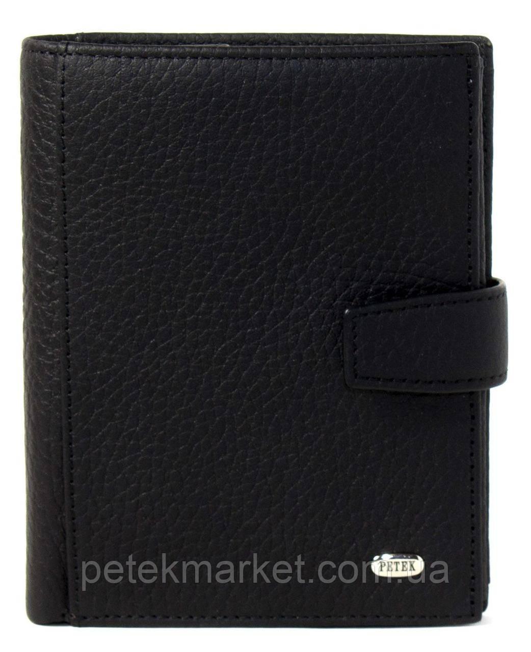 Кожаное мужское портмоне Petek 297-234-01