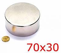 Неодимовый магнит 70х30 (вода,газ,электро)для поисковых работ