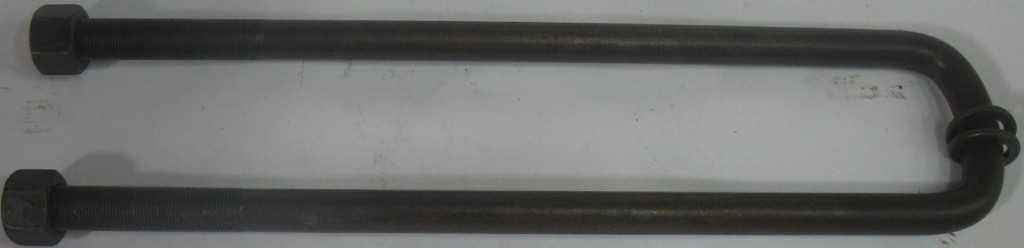 Стремянка рессоры задней ЗИЛ 130 М22х1,5 (с гайкой) (пр-во Россия)