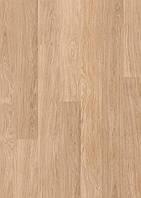 Ламінована підлога, Quick-Step, Eligna, Дошка білого дуба лакована, U915