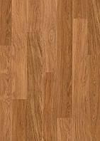 Ламінована підлога, Quick-Step, Eligna, Дошка темного дуба лакованого, U918