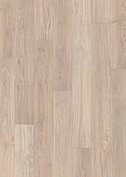 Ламінована підлога, Quick-Step, Eligna, Дошка дубова світло-сіра лакована, UM1304