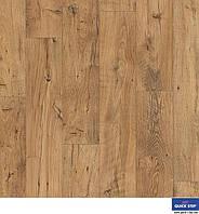 Ламінована підлога, Quick-Step, Eligna Wide, Реставрований каштан натур, UW1541