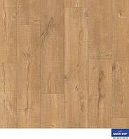 Ламінована підлога, Quick-Step, Eligna Wide, Пилений дуб натур, UW1548