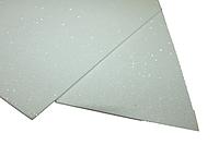 Фоамиран блестящий/глиттерный (разные цвета) 2мм/20х30см:Белый
