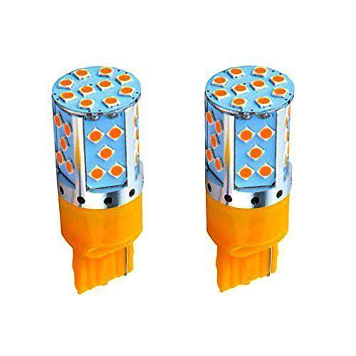 Лампа LED 12V 7440 35SMD 3030 260Lm ЖЕЛТЫЙ