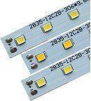 Полоса алюминевая 12V 2835 120smd (resistor 390) 10 mm 6000K