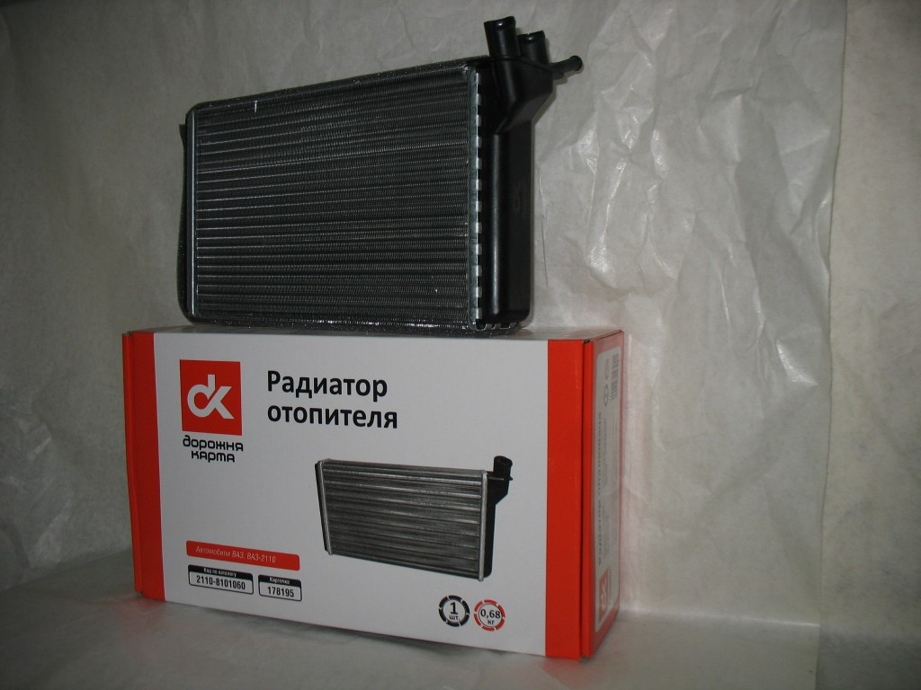 Радіатор водяного охолодження ВАЗ 2110,-11,-12 (карбюратор)