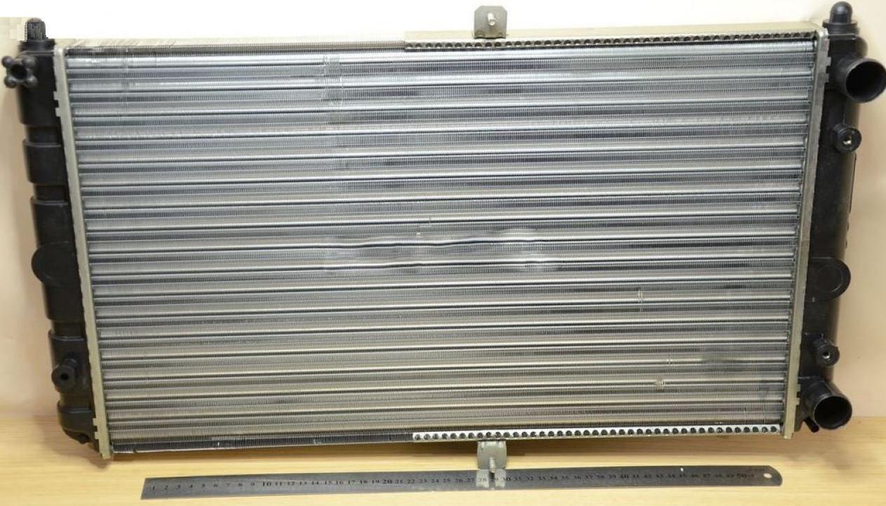 Радиатор водяного охлаждения ВАЗ 2110,-11,-12 (карбюратор) (пр-во ДААЗ)