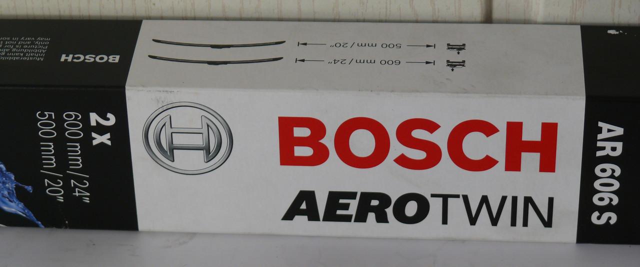 Щетка стеклоочистителя 600/500 AEROTWIN AR606S (пр-во Bosch)