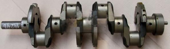 Вал коленчатый Д 245.7,9,Е2 (ГАЗ, МАЗ, ПАЗ)  7 отв., без шлиц. (пр-во ММЗ)