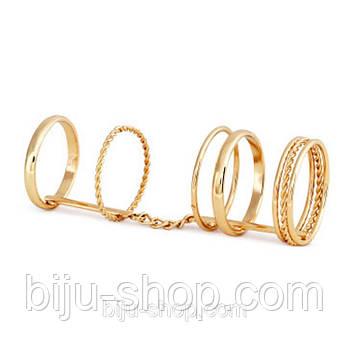 "Кольцо Midi ring ""Connection"", аналог"