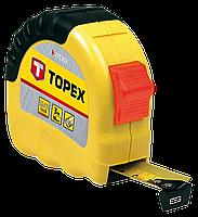"Рулетка Topex 27C302, ""Shiftlock"" стальная лента, 2 м, ширина полотна 16 мм"