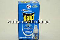 Жидкость от комаров Raid без запаха 60 ночей