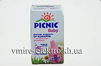 Жидкость от комаров Picnic Baby без запаха 45 ночей