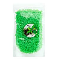 Воск для горячей эпиляции с экстрактом зеленого чая Christian 100g (CWAX-102)