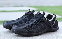 Кроссовки мужские черные Bona 31435C Бона сетка летние Размеры 41 42 43 44 45 46