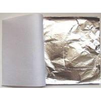 Поталь листовая под серебро 500 листов, фото 1