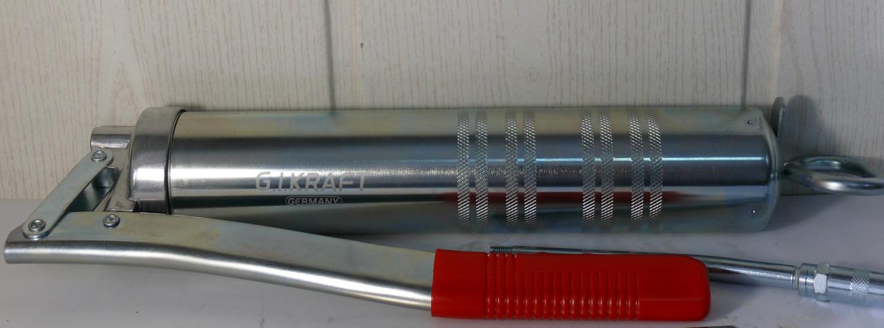 Шприц рычажно-плунжерный 400мл. G.I.KRAFT пр-во Германия