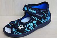 Тапочки на мальчика польские, ViGGaMi Вигами, детская текстильная обувь р.21