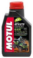 Моторное масло для квадроцикла полусинтетика MOTUL ATV-UTV Expert 4T 10W40 (1L)