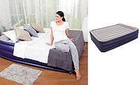 Двуспальная надувная кровать Bestway 67528 (203х152х56см), встроенный электронасос, фото 1