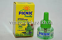 Жидкость от комаров Picnic Family без запаха 45 ночей, фото 1