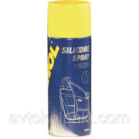 Смазка силиконовая Silicone Spray Antistatisch MANNOL 450 мл
