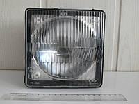 Фара МТЗ передняя квадратная с лампочкой в пластмасовом корпусе Н4 (пр-во Украина), фото 1