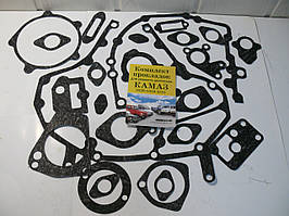 Р/к двигателя КАМАЗ комплект (21 наим.) (паронит) пр-во Украина