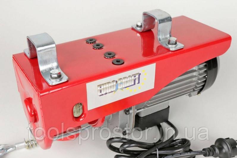 Подъемник электрический Euro Craft HJ203 : 1600W | 250 кг / 500 кг | Гарантия 1 год