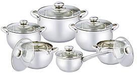 Набор посуды 12 предметов Vincent VC-3033