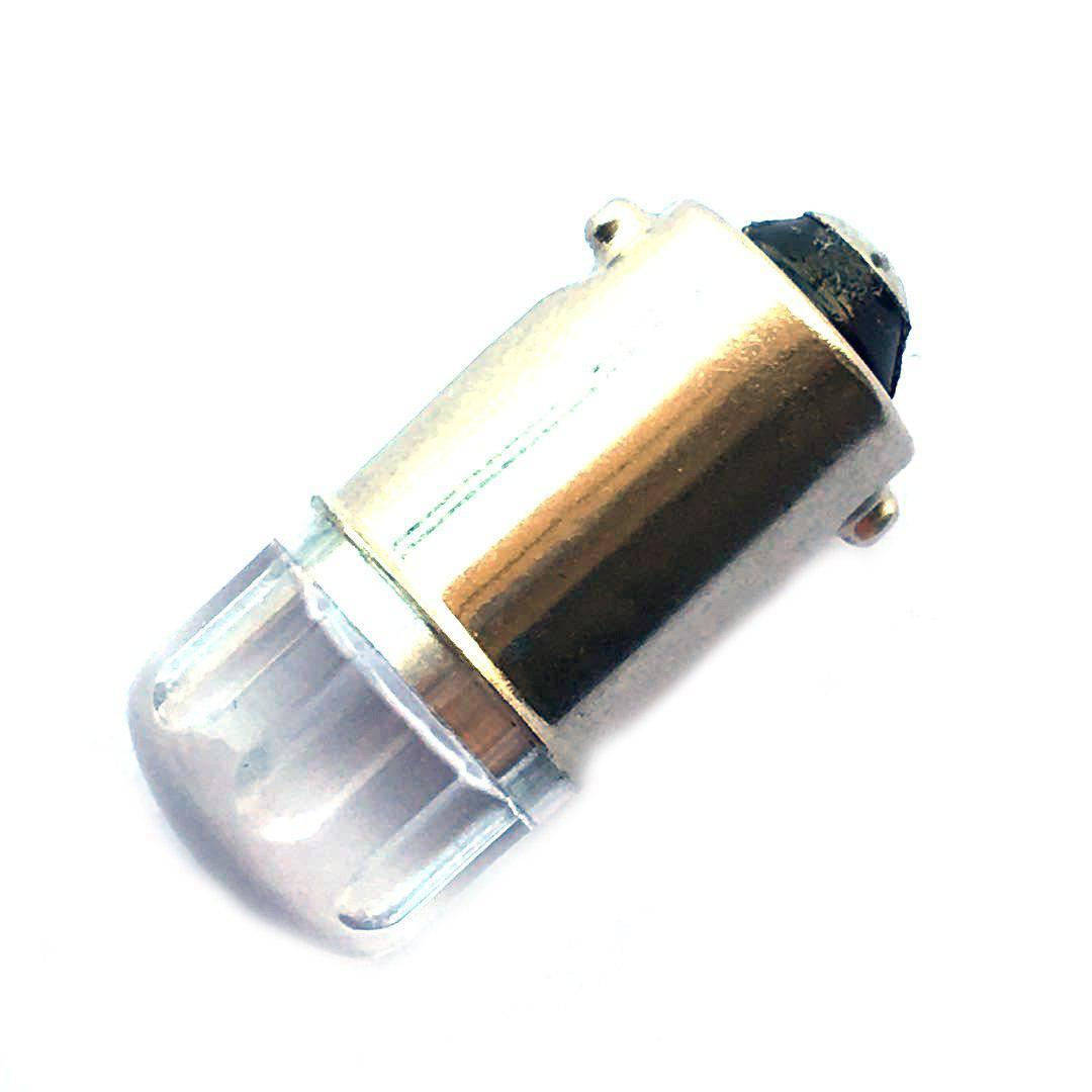 Лампа LED 12V T4W (BA9s) 2smd 2835 Philips линза 100Lm БЕЛЫЙ