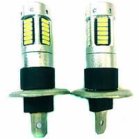 Лампа LED 12V H1 30SMD 4014 драйвер белый драйвер обманка 250Lm
