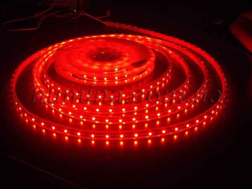 Светодиодная лента Premium YM 12V 3528-60 IP33 RED 5м.