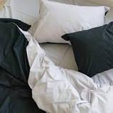 """Семейный комплект постельного белья ТМ """"Ловец снов"""", Однотонный черный, фото 5"""