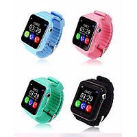 Умные детские часы с GPS трекером Smart Baby Watch V7k 4 Цвета (GPS+LBS)