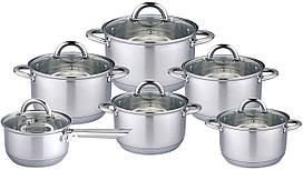 Набор посуды 12 предметов Vincent VC-3034