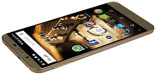 """Мобильный телефон Mediacom X555U, 5,5"""", Mediatek MT6753 (1.3 ГГц), 3 ГБ, 16 ГБ, Gold"""