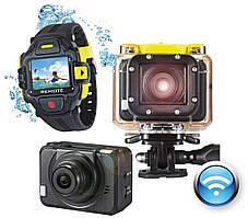 Екшн-камера GoXtreme WiFi Pro (Часы в комплекте не рабочие)