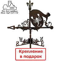 Флюгер на крышу Скорпион (Скорпіон)