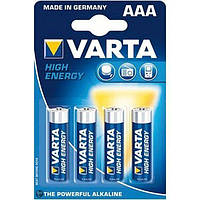 Батарейка AAA Varta LR3/4-BL (LongLife Power) (1шт.) (4903)